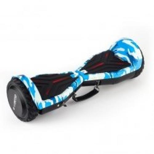 Hoverboard AirMotion H1 White Graffiti 6 5 inch - Vehicule electrice - Hoverboard