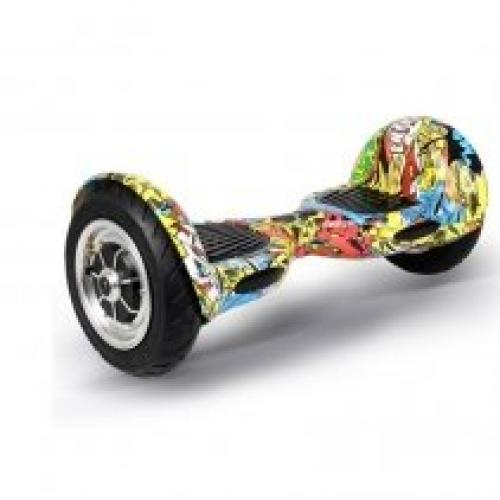 Hoverboard Koowheel S36-C10 Offroad Yellow Graffiti - Vehicule electrice - Hoverboard