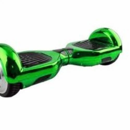 Hoverboard Koowheel S36 Green Chrome 6 5 inch - Vehicule electrice - Hoverboard