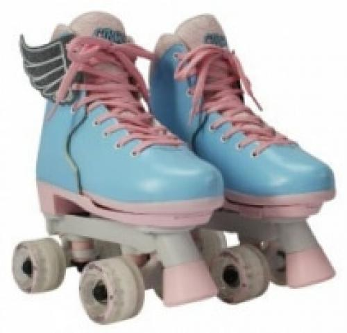 Patine cu rotile Circle Society Cotton Candy reglabile 34-39 - Vehicule electrice - Sport